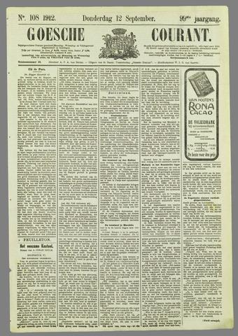 Goessche Courant 1912-09-12