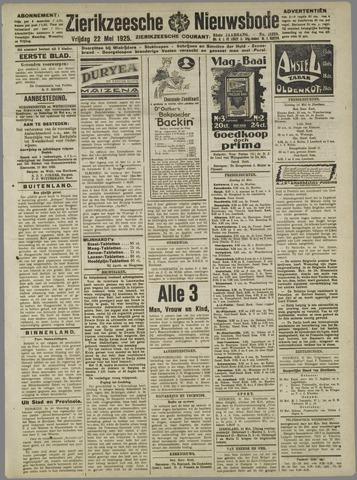 Zierikzeesche Nieuwsbode 1925-05-22