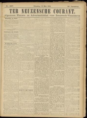 Ter Neuzensche Courant. Algemeen Nieuws- en Advertentieblad voor Zeeuwsch-Vlaanderen / Neuzensche Courant ... (idem) / (Algemeen) nieuws en advertentieblad voor Zeeuwsch-Vlaanderen 1919-05-13