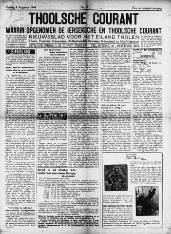 Ierseksche en Thoolsche Courant 1944-08-04