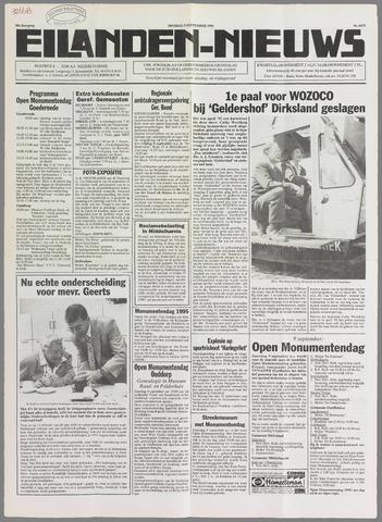Eilanden-nieuws. Christelijk streekblad op gereformeerde grondslag 1995-09-05