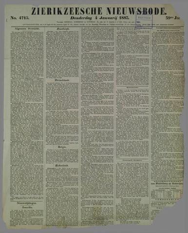 Zierikzeesche Nieuwsbode 1883