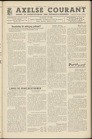 Axelsche Courant 1963-04-06