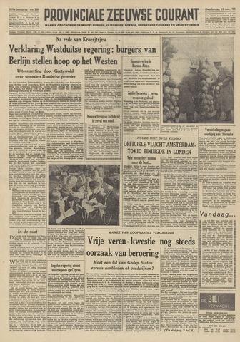 Provinciale Zeeuwse Courant 1958-11-13