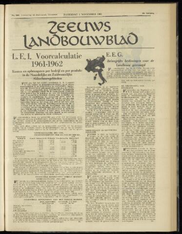 Zeeuwsch landbouwblad ... ZLM land- en tuinbouwblad 1961-11-04