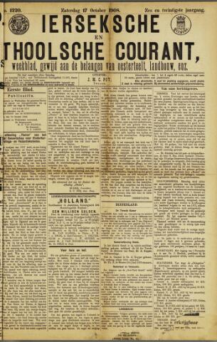 Ierseksche en Thoolsche Courant 1908-10-17