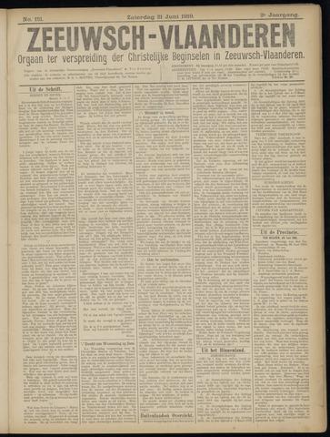 Luctor et Emergo. Antirevolutionair nieuws- en advertentieblad voor Zeeland / Zeeuwsch-Vlaanderen. Orgaan ter verspreiding van de christelijke beginselen in Zeeuwsch-Vlaanderen 1919-06-21