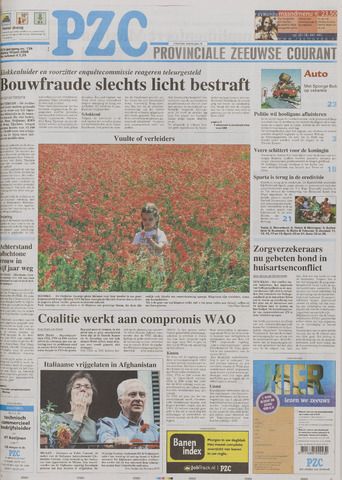 Provinciale Zeeuwse Courant 2005-06-10