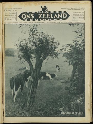 Ons Zeeland / Zeeuwsche editie 1934-05-04