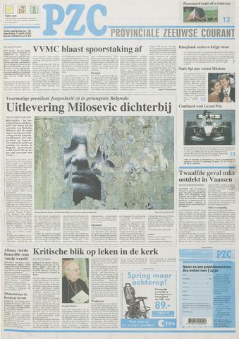 Provinciale Zeeuwse Courant 2001-04-02