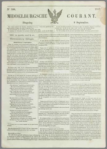 Middelburgsche Courant 1857-09-08