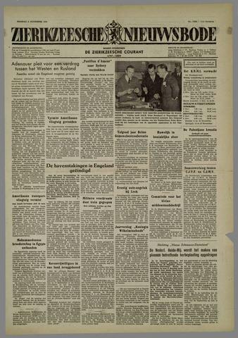 Zierikzeesche Nieuwsbode 1954-11-02