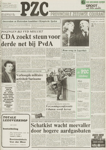 Provinciale Zeeuwse Courant 1984-03-03