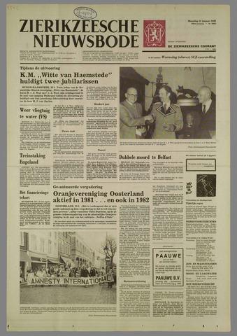 Zierikzeesche Nieuwsbode 1982-01-25