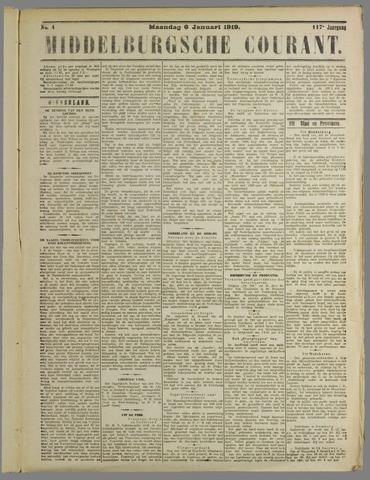 Middelburgsche Courant 1919-01-06
