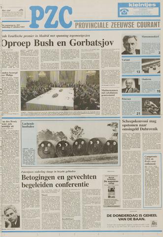Provinciale Zeeuwse Courant 1991-10-31