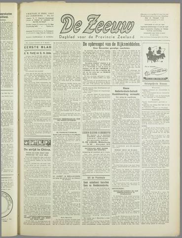 De Zeeuw. Christelijk-historisch nieuwsblad voor Zeeland 1937-12-17