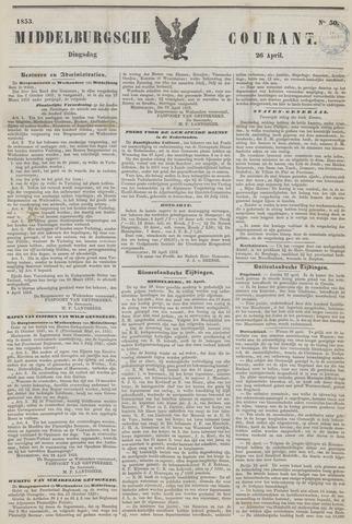 Middelburgsche Courant 1853-04-26