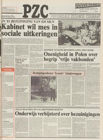 Provinciale Zeeuwse Courant 1980-08-29