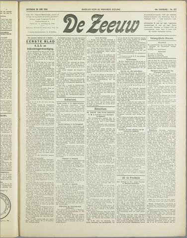 De Zeeuw. Christelijk-historisch nieuwsblad voor Zeeland 1934-06-30