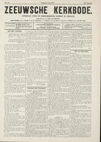 Zeeuwsche kerkbode, weekblad gewijd aan de belangen der gereformeerde kerken/ Zeeuwsch kerkblad 1935-06-21