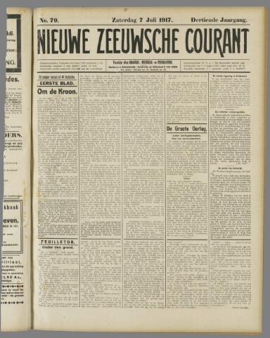 Nieuwe Zeeuwsche Courant 1917-07-07