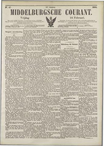 Middelburgsche Courant 1899-02-24