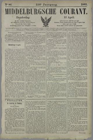 Middelburgsche Courant 1883-04-12