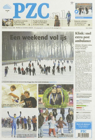 Provinciale Zeeuwse Courant 2009-01-12