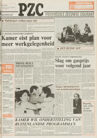 Provinciale Zeeuwse Courant 1984-06-29
