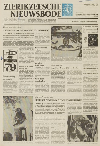 Zierikzeesche Nieuwsbode 1973-07-05