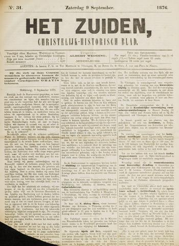 Het Zuiden, Christelijk-historisch blad 1876-09-09
