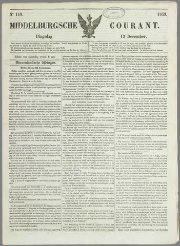 Middelburgsche Courant 1859-12-13