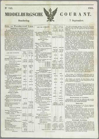 Middelburgsche Courant 1865-09-07