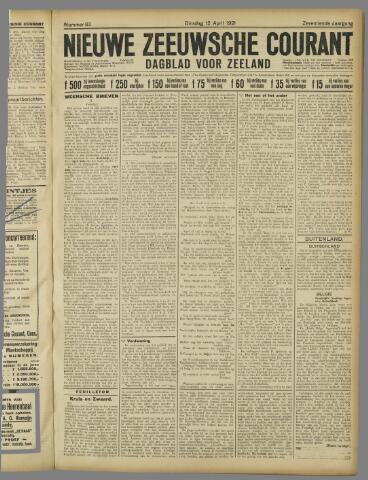 Nieuwe Zeeuwsche Courant 1921-04-12