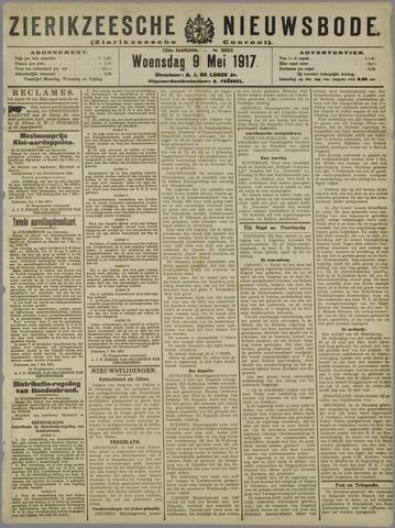 Zierikzeesche Nieuwsbode 1917-05-09
