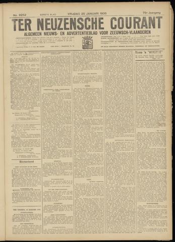 Ter Neuzensche Courant. Algemeen Nieuws- en Advertentieblad voor Zeeuwsch-Vlaanderen / Neuzensche Courant ... (idem) / (Algemeen) nieuws en advertentieblad voor Zeeuwsch-Vlaanderen 1935-01-25