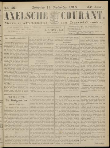 Axelsche Courant 1918-09-14