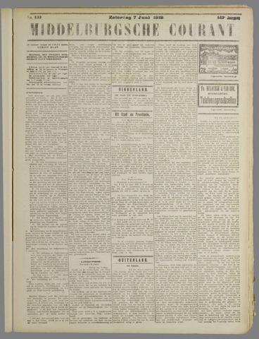 Middelburgsche Courant 1919-06-07