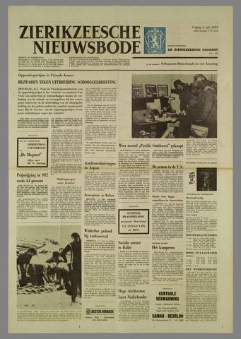 Zierikzeesche Nieuwsbode 1972-07-07