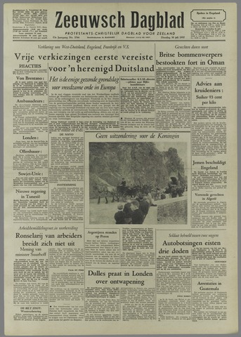 Zeeuwsch Dagblad 1957-07-30