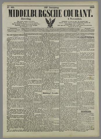 Middelburgsche Courant 1893-11-04
