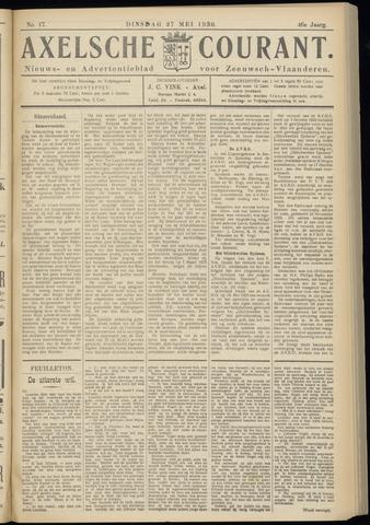 Axelsche Courant 1930-05-27