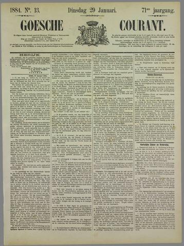 Goessche Courant 1884-01-29