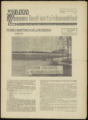 Zeeuwsch landbouwblad ... ZLM land- en tuinbouwblad 1964-08-07