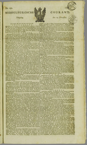Middelburgsche Courant 1824-12-14