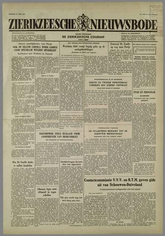 Zierikzeesche Nieuwsbode 1958-05-27