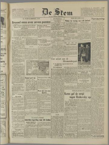 de Stem 1948-03-09