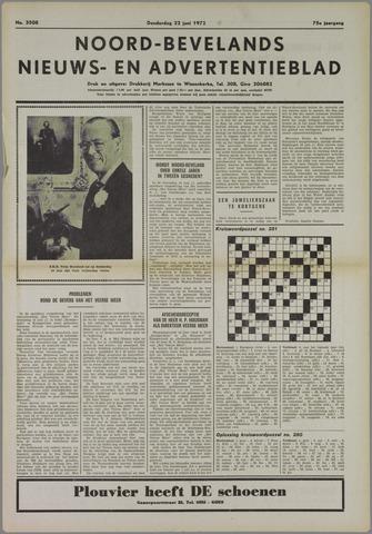 Noord-Bevelands Nieuws- en advertentieblad 1972-06-22