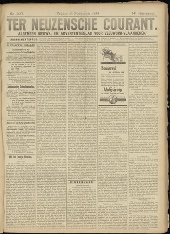 Ter Neuzensche Courant. Algemeen Nieuws- en Advertentieblad voor Zeeuwsch-Vlaanderen / Neuzensche Courant ... (idem) / (Algemeen) nieuws en advertentieblad voor Zeeuwsch-Vlaanderen 1924-11-21